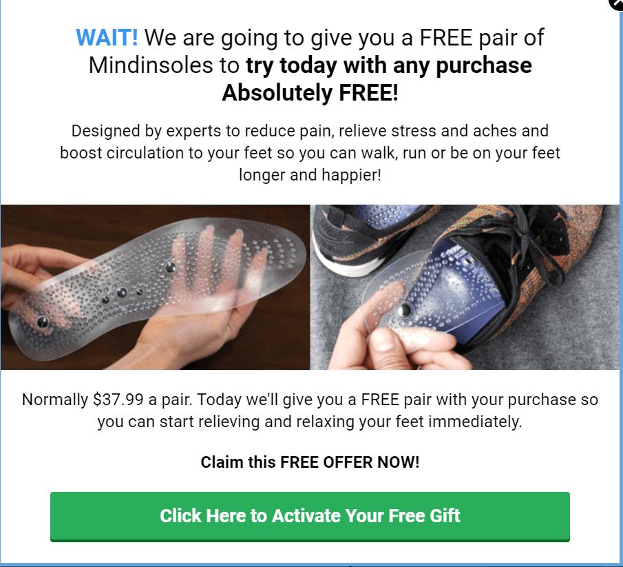Mindinsole Free Gift