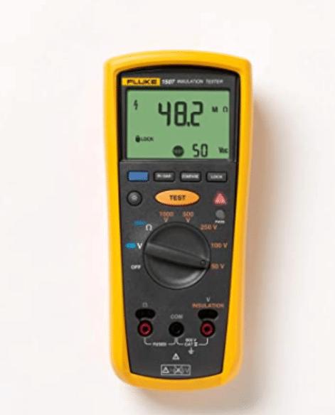 A Fluke 1507 Insulation Tester